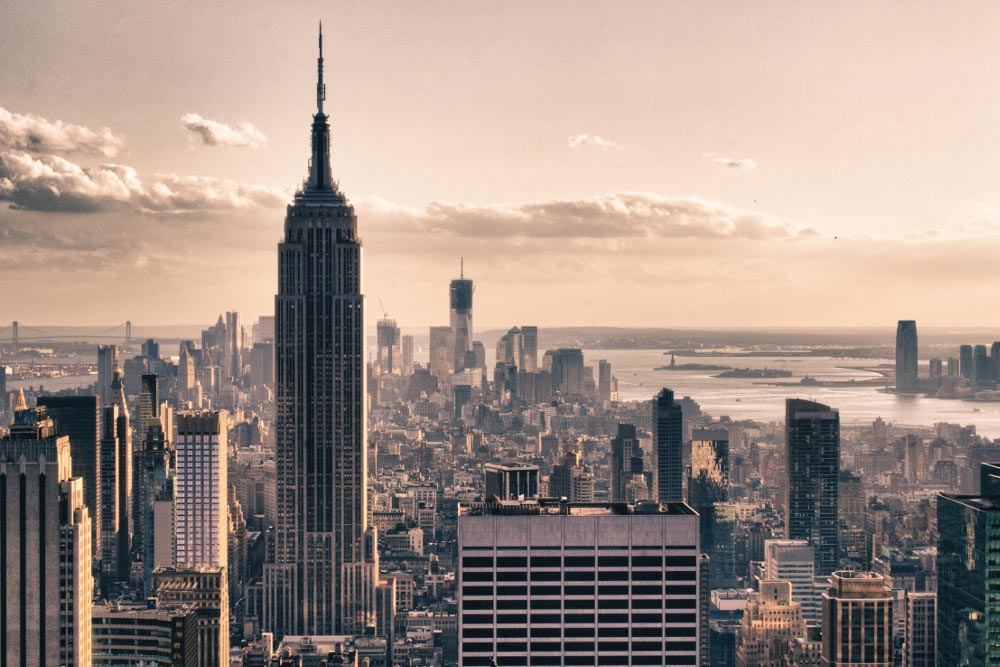 Fotokader New York Winter , ft 65 x 98 cm