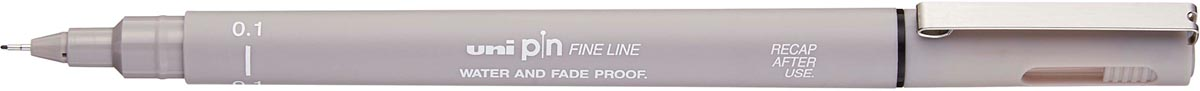 Uni Pin fineliner lichtgrijs, 0,1 mm