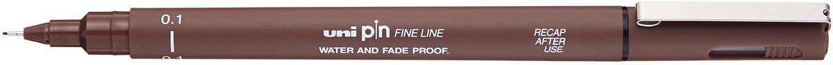 Uni Pin fineliner sepia, 0,1 mm
