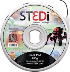 ST3Di 3D cartridge PLA 750G voor St3di printer, zwart