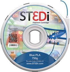 ST3Di 3D cartridge PLA 750G voor St3di printer, blauw