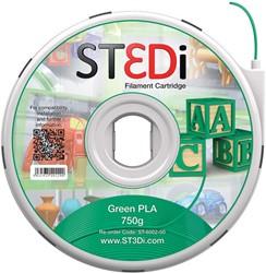 ST3Di 3D cartridge PLA 750G voor St3di printer, groen