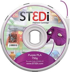 ST3Di 3D cartridge PLA 750G voor St3di printer, paars