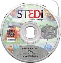 ST3Di 3D cartridge PLA 750G voor St3di printer, zilver