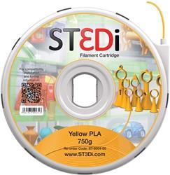 ST3Di 3D cartridge PLA 750G voor St3di printer, geel