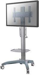 "Newstar monitor vloerstandaard M2000, voor flatscreens t/m 85"" (216 cm), met DVD/laptop plateau"