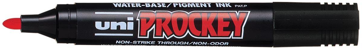 Uni marker voor flipchart Prockey PM-122 rood