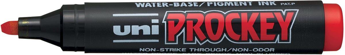 Uni-ball permanent marker Prockey PM-126 rood