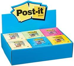 Post-it Super Sticky Notes display, voor ft 76 x 76 mm, 36 blokken van 90 vel