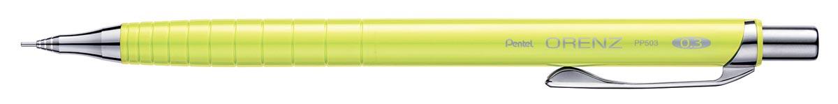 Vulpotlood Pentel Orenz 0.3mm geel