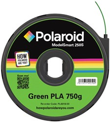 Polaroid 3D cartridge PLA 750G voor Polaroid 250S, groen