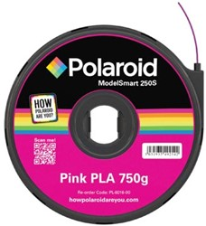 Polaroid 3D cartridge PLA 750G voor Polaroid 250S, roze
