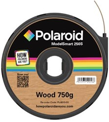 Polaroid 3D cartridge PLA 750G voor Polaroid 250S, hout