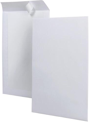 Bordrugenveloppen ft 262 x 371 mm, doos van 100 stuks