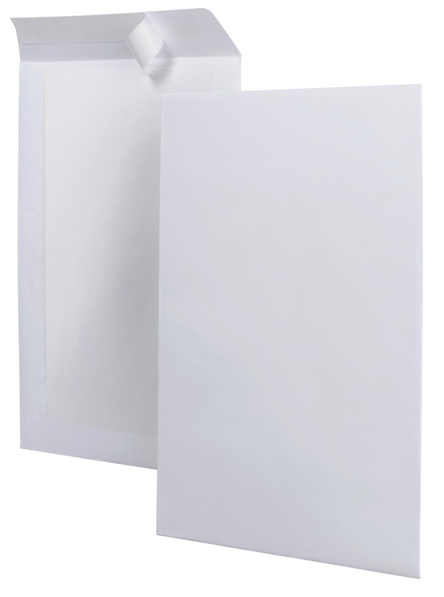 Bordrugenveloppen ft 229 x 324 mm, doos van 100 stuks