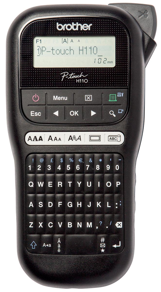 Brother beletteringsysteem P-touch H110, qwerty