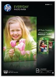 HP fotopapier Everyday ft A4, 200 g, pak van 100 vel