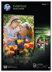 HP fotopapier Everyday ft A4, 200 g, pak van 25 vel