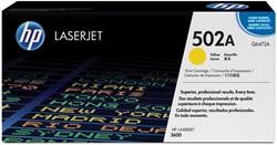 HP Tonercartridge geel 502A - 4000 pagina's - Q6472A