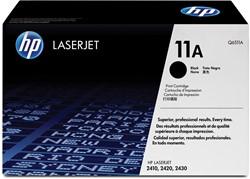 HP Tonercartridge zwart 11A - 6000 pagina's - Q6511A