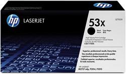 HP Tonercartridge zwart 53X - 7000 pagina's - Q7553X