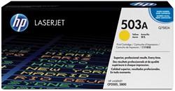 HP Tonercartridge geel 503A - 6000 pagina's - Q7582A