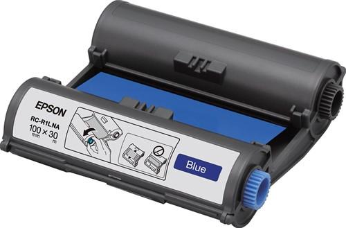 Epson inkttape RC-R1LNA ft 100 mm x 30 m, blauw