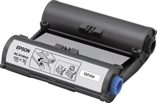 Epson inkttape RC-R1WNA ft 100 mm x 30 m, wit