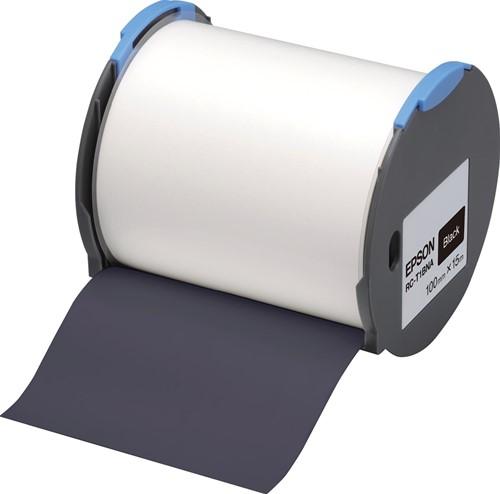 Epson tape RC-T1BNA ft 100 mm x 15 m, zwart