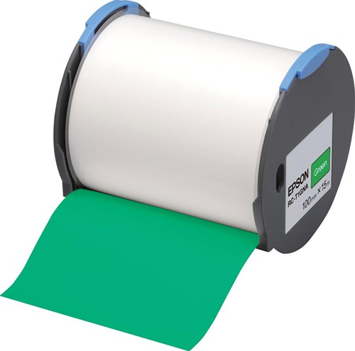 Epson tape RC-T1GNA ft 100 mm x 15 m, groen