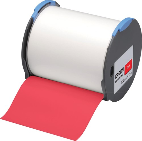 Epson tape RC-T1RNA ft 100 mm x 15 m, rood