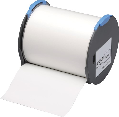 Epson tape RC-T1WNA ft 100 mm x 15 m, wit