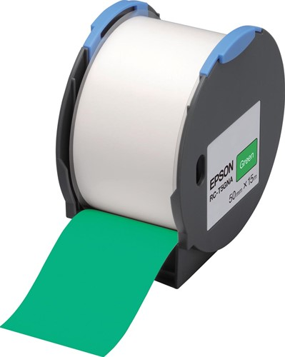 Epson tape RC-T5GNA ft 50 mm x 15 m, groen