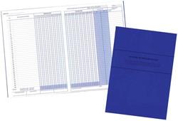 Mano aanwezigheidslijst Franstalig, ft 21 x 29,7 cm, 80 g/m², 32 bladzijden