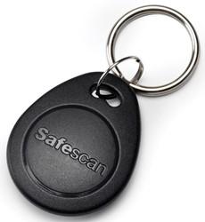Safescan RFID sleutelhangers, voor tijdsregistratiesysteem, pak van 25 stuks