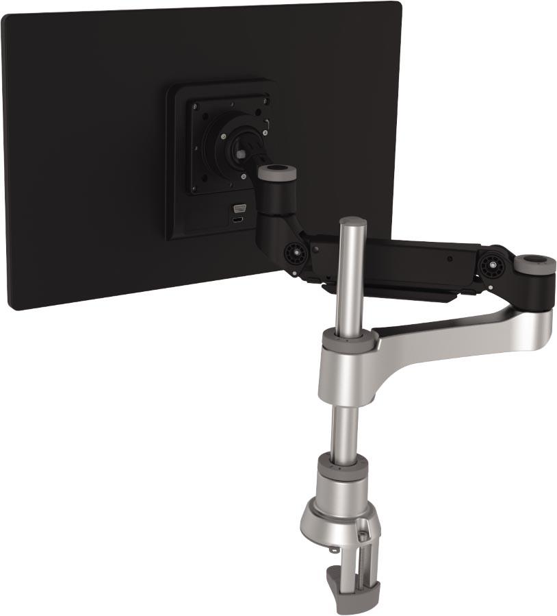 R-Go Caparo 4 monitorarm, enkel, circulair