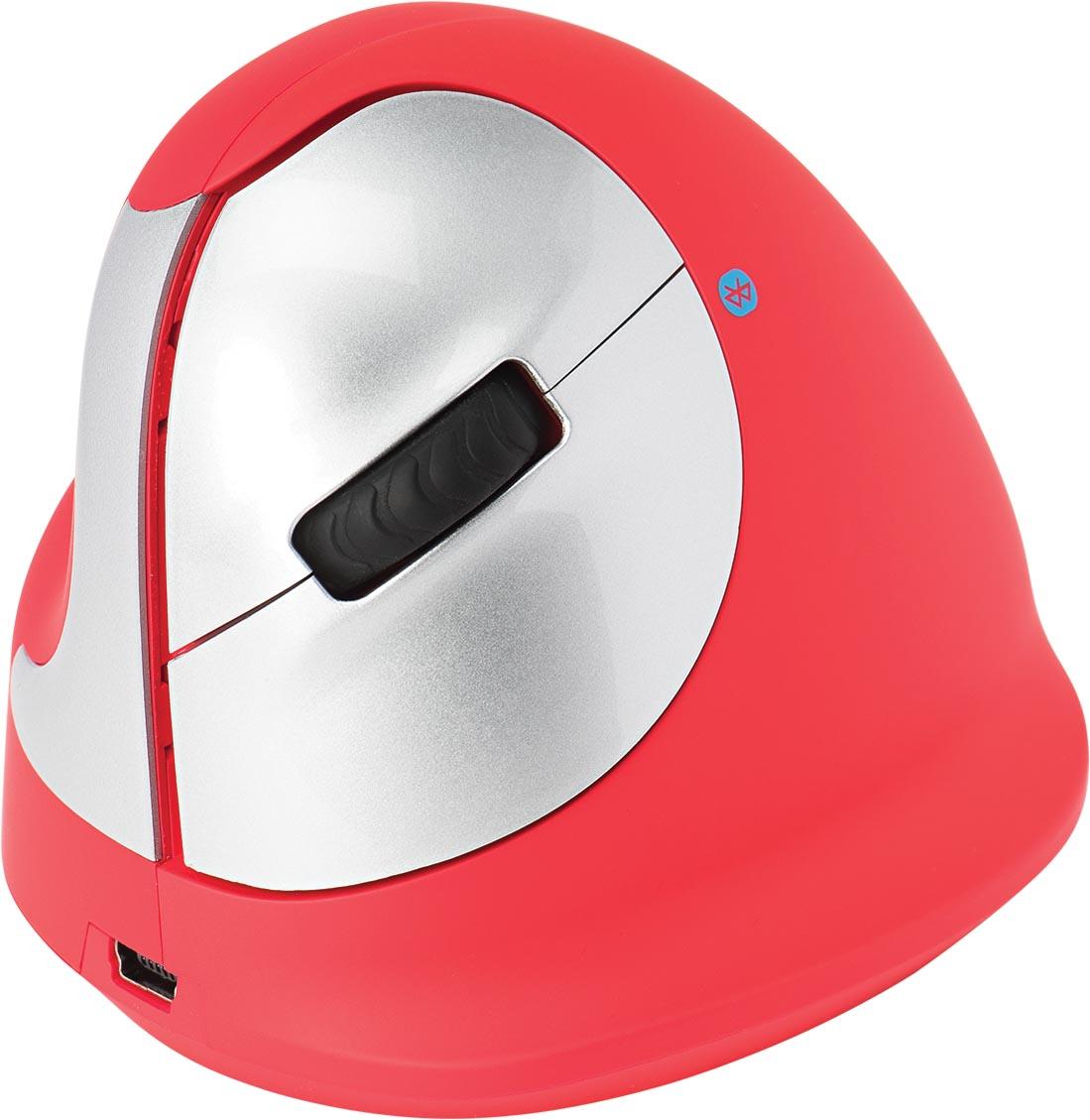 R-Go HE Sport ergonomische muis links, rood