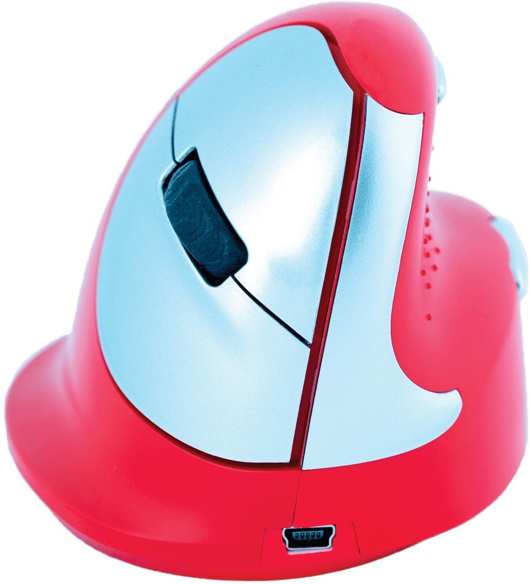 R-Go HE Sport ergonomische muis rechts, rood