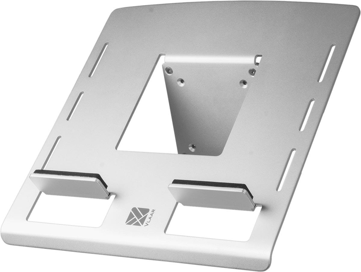 R-GO Laptop/Tablethouder Zilv