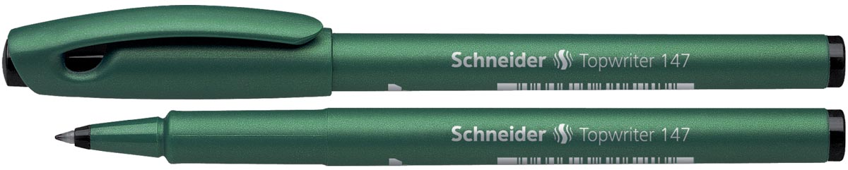Schneider fineliner topwriter 147 zwart