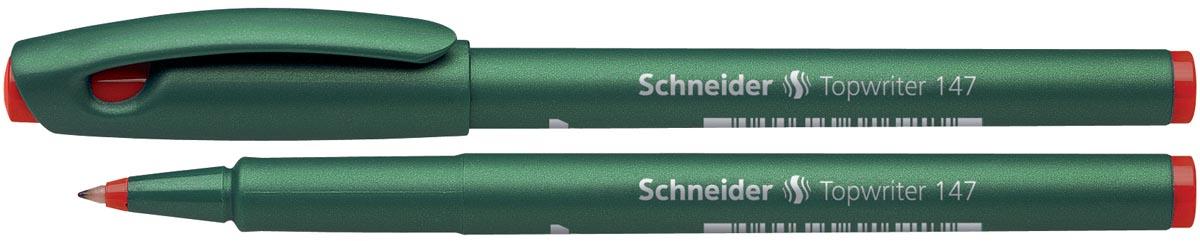 Schneider fineliner topwriter 147 rood