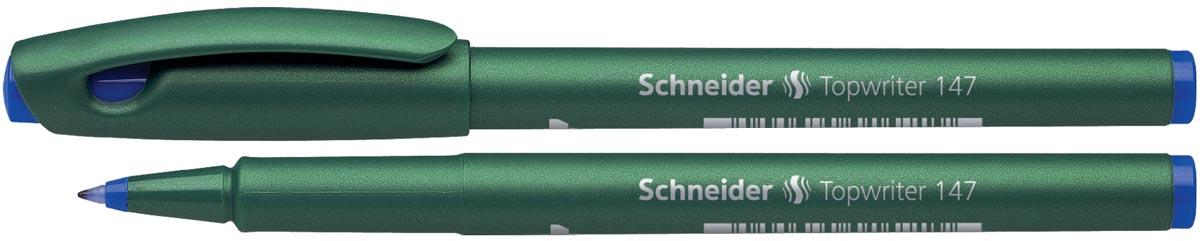 Schneider fineliner topwriter 147 blauw