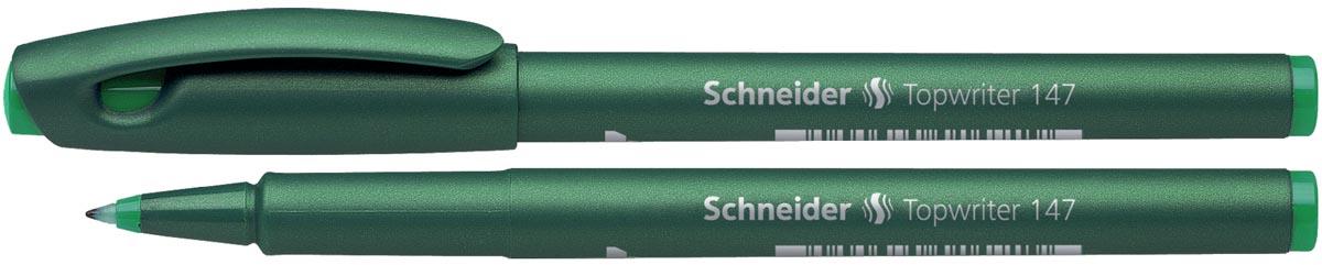 Schneider fineliner topwriter 147 groen