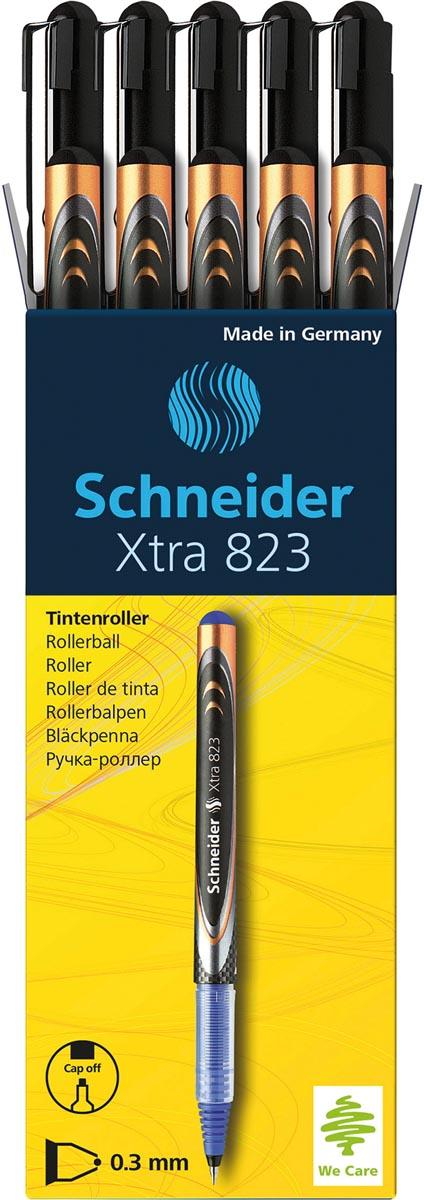 Rollerball Schneider Xtra 823 0.3mm zwart