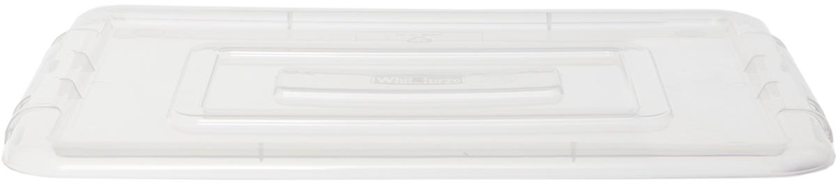 Whitefurze Stack & Store Mini deksel voor opbergdoos 5 liter, transparant