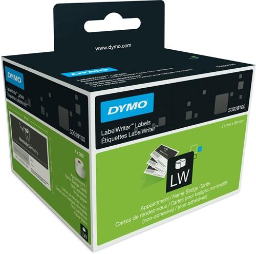 Dymo etiketten LabelWriter ft 51 x 89 mm, wit, 300 etiketten
