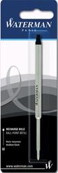 Waterman vulling voor balpen medium, zwart, op blister