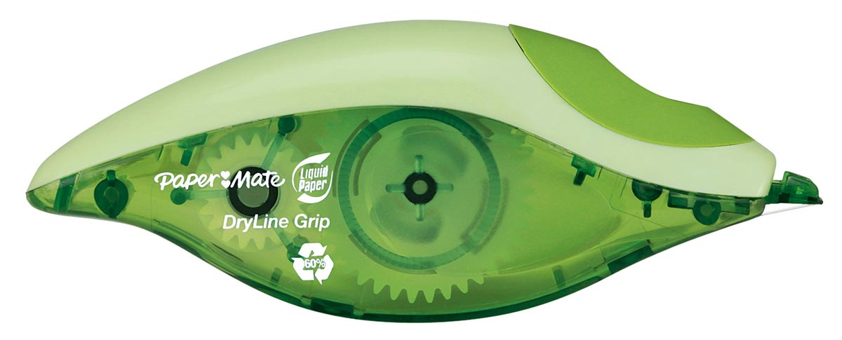 Paper Mate correctieroller Dryline Grip Recycled