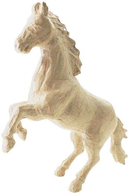Décopatch paard, papier-maché, groot