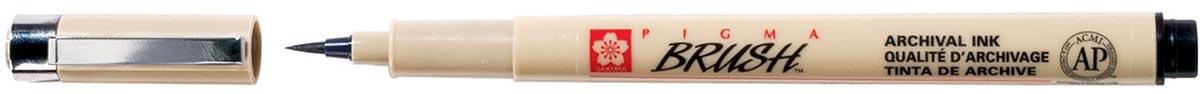 Sakura bruhspen Pigma Brush, sepia